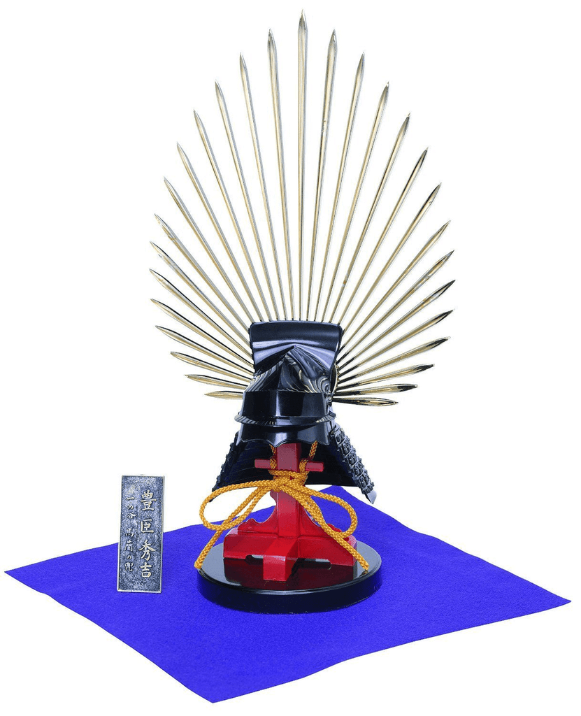Doyusha K3 Toyotomi Hideyoshi Kabuto Samurai Armet Helmet 1/4 Scale Model Kit
