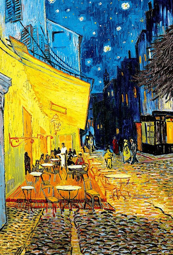 Beverly Jigsaw Puzzle 31-472 Art Gogh Cafe Terrace at Night (1000 Pieces)