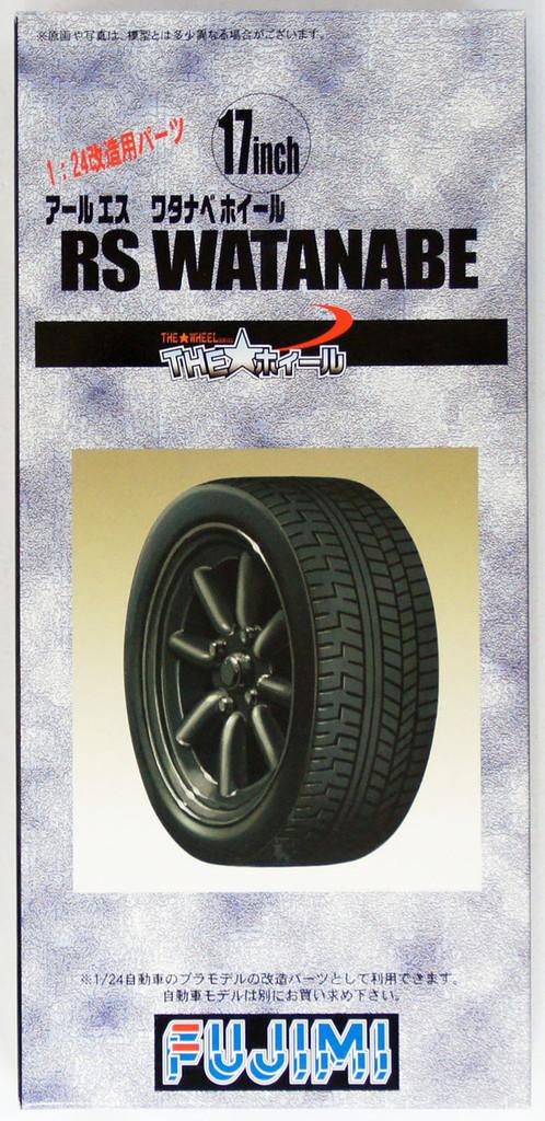 Fujimi TW22 RS Watanabe Wheel & Tire Set 17 inch 1/24 Scale Kit