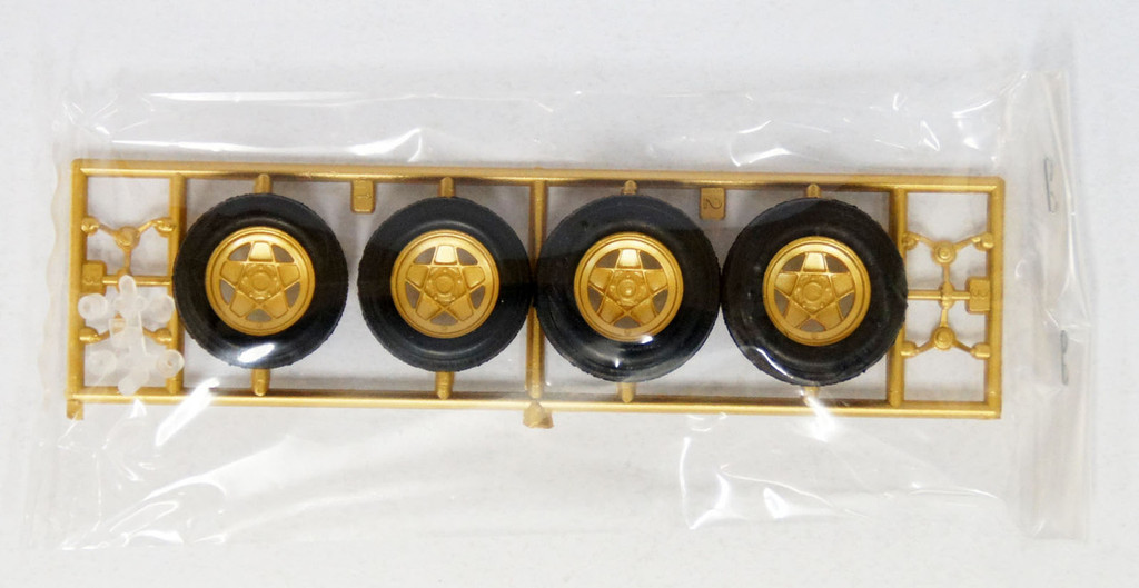 Fujimi TW23 Campagnolo Wheel & Tire Set 1/24 Scale Kit