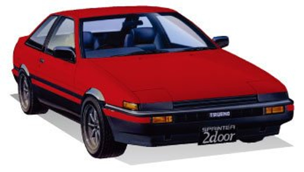 Fujimi ID-183 Toyota Trueno (2 Door GT/APEX Early Type) 1/24 Scale Kit