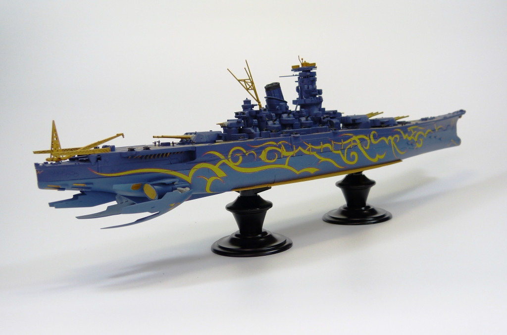 Aoshima 51245 ARPEGGIO OF BLUE STEEL Series #24 Heavy Battle Ship Musashi 1/700 scale kit