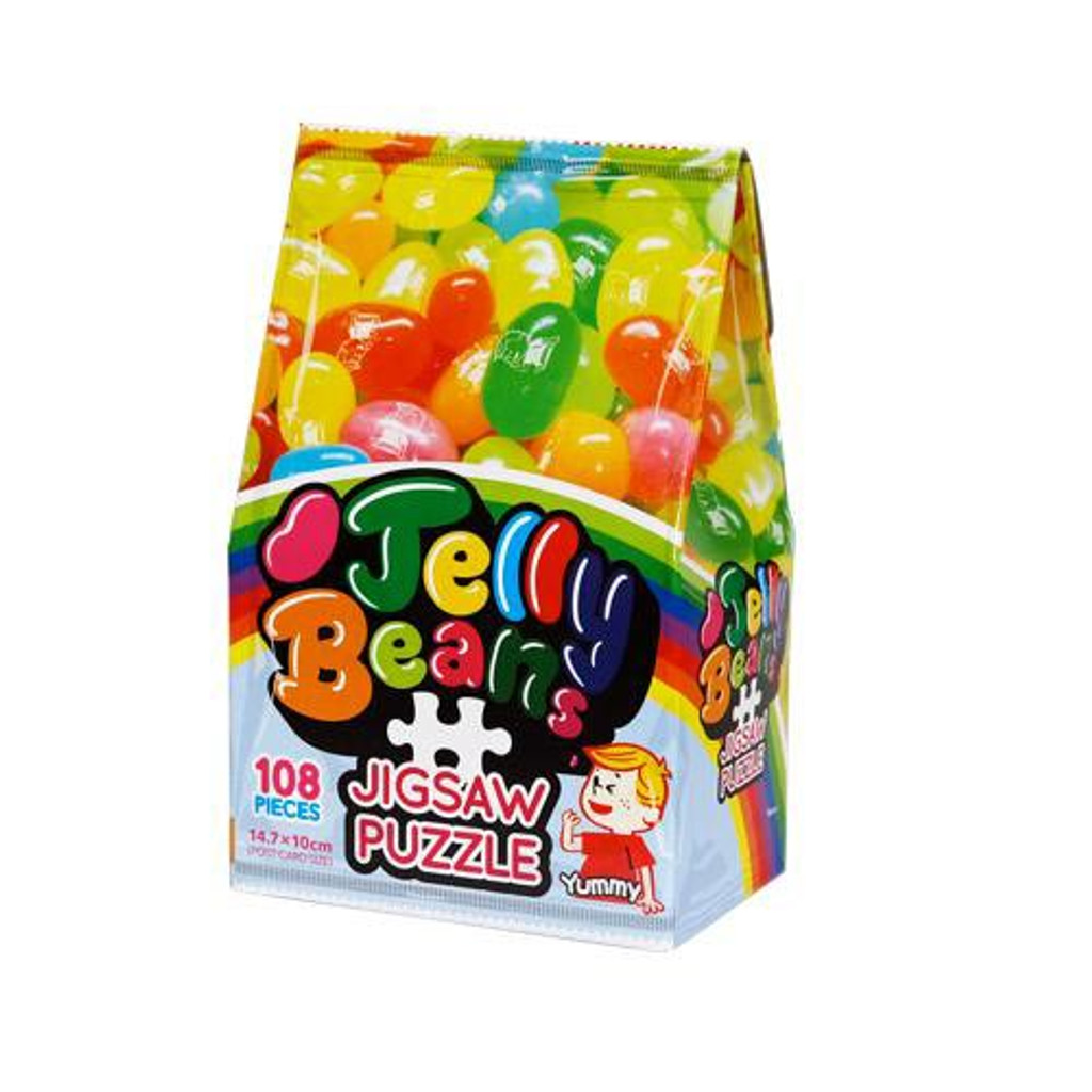 Beverly Jigsaw Puzzle M108-195 Candy Collection Jelly Beans (108 S-Pieces)