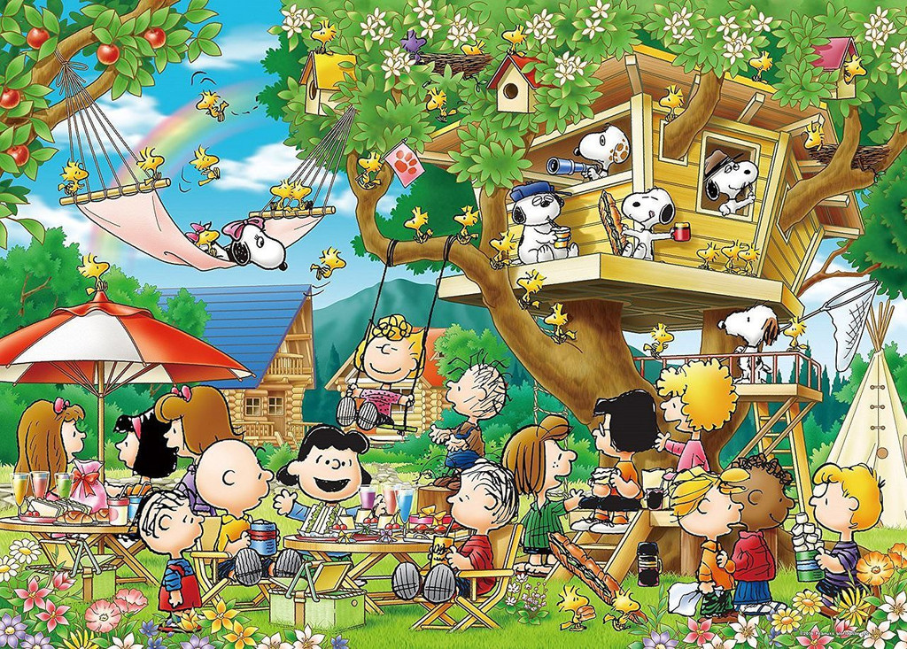 Epoch Jigsaw Puzzle 21-107 Peanuts Snoopy Tree House(3000 S-Pieces)