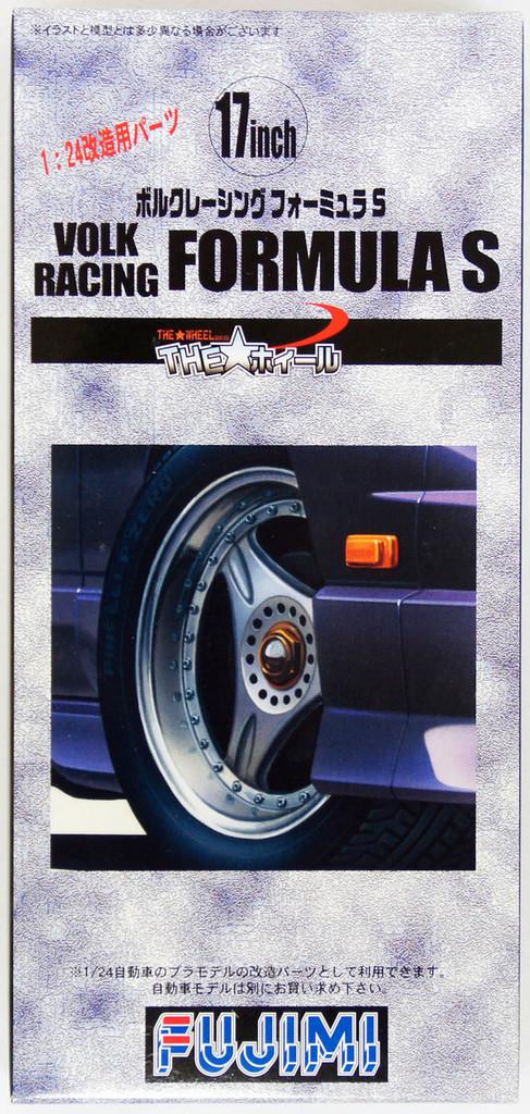 Fujimi TW60 Volk Racing Formula S Wheel & Tire Set 17 inch 1/24 Scale Kit