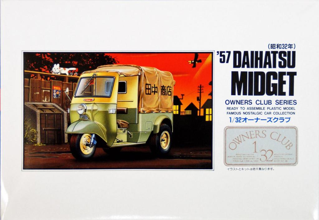 Arii Owners Club 1/32 07 1957 Daihatsu Midget 1/32 Scale Kit (Microace)