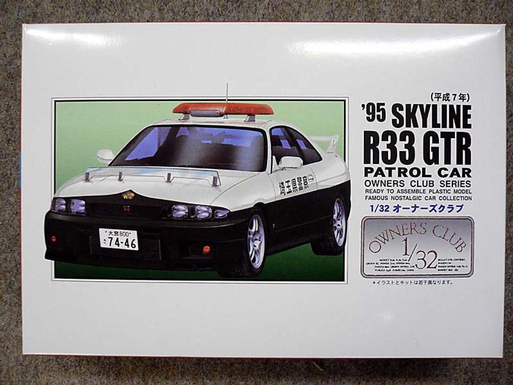 Arii Owners Club 1/32 59 1995 Skyline R33 GT-R 1/32 Scale Kit (Microace)