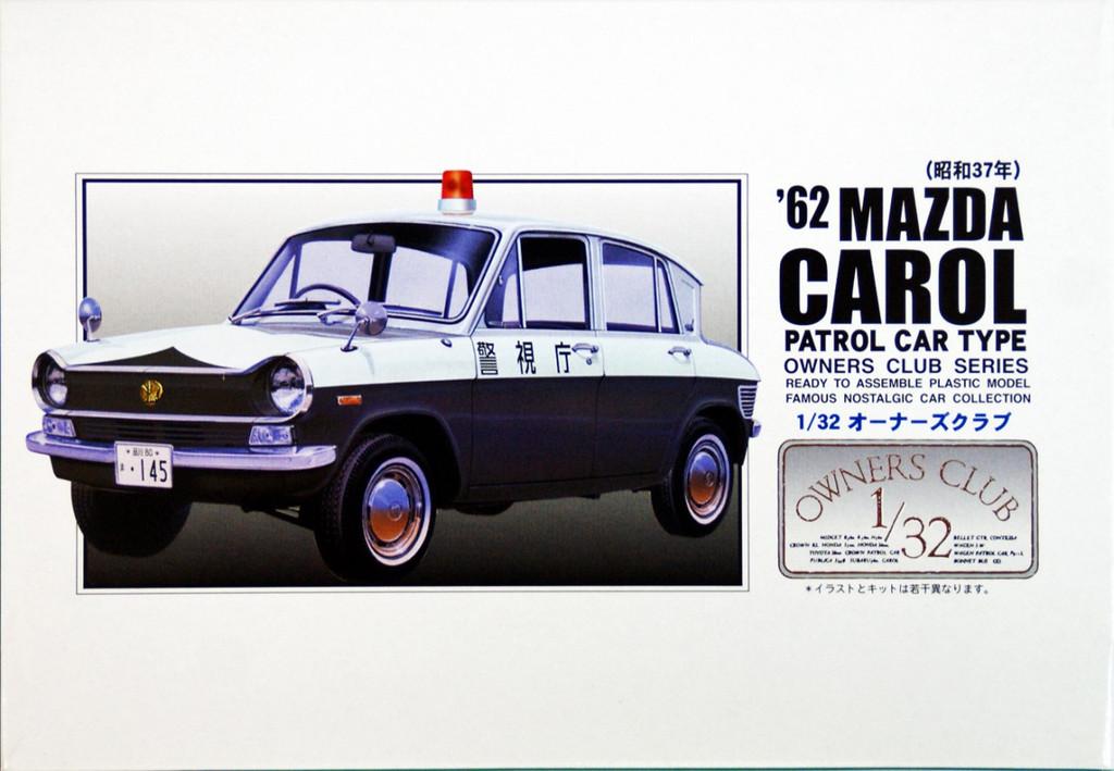 Arii Owners Club 1/32 64 1964 Mazda Carol Patrol 1/32 Scale Kit (Microace)