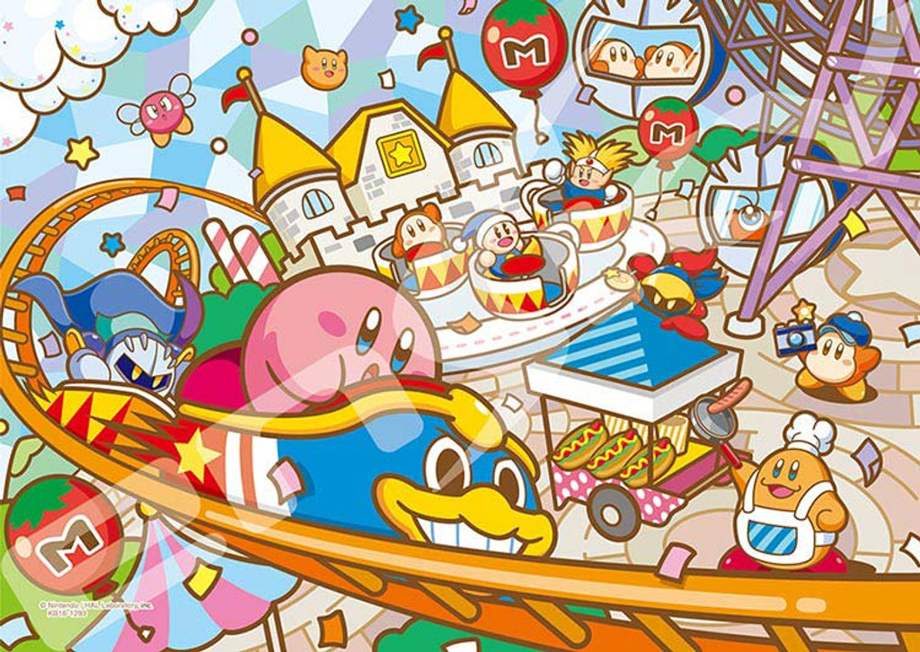 Ensky Art Crystal Jigsaw Puzzle 208-AC39 Kirby's Dream Land Kirby (208 Pieces)