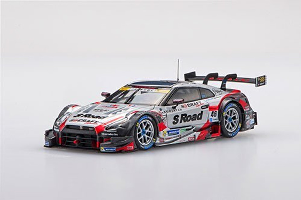 Ebbro 45399 S Road CRAFTSPORTS GT-R SUPER GT GT500 2016 Rd.2 Fuji No.46 1/43 scale