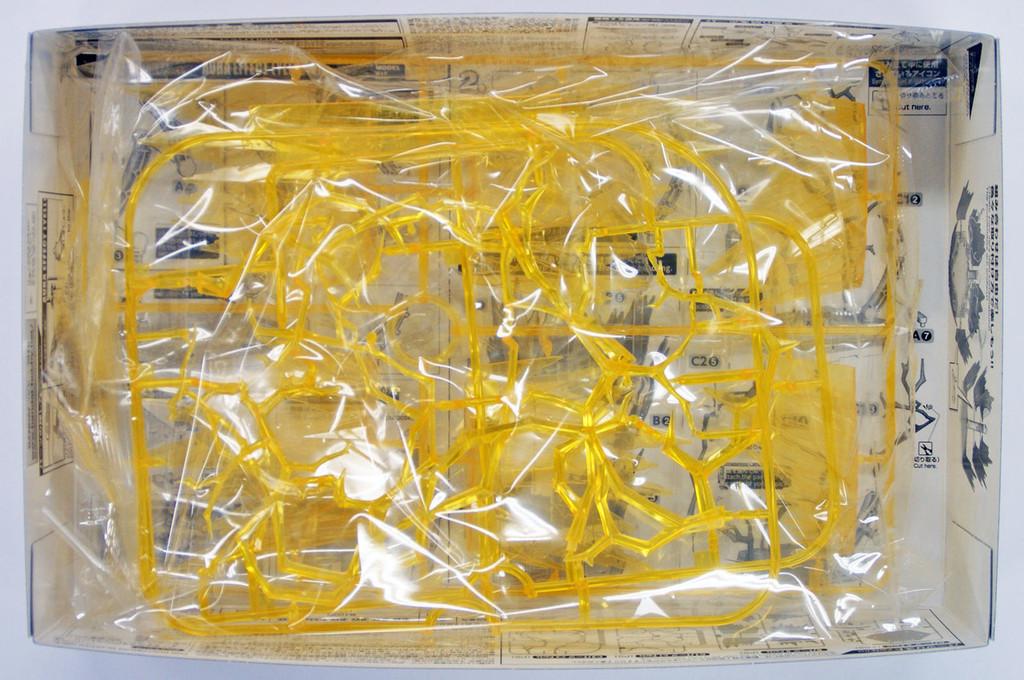 Bandai Figure-Rise Effect 129721 Aura Effect (Yellow) Plastic Model Kit