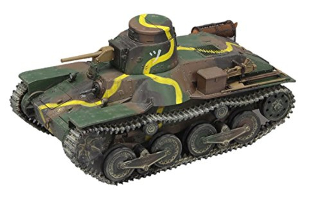 Fine Molds FM48 IJA Type 95 Light Tank Ha-Go Battle of Khalkhin Gol 1/35 Scale