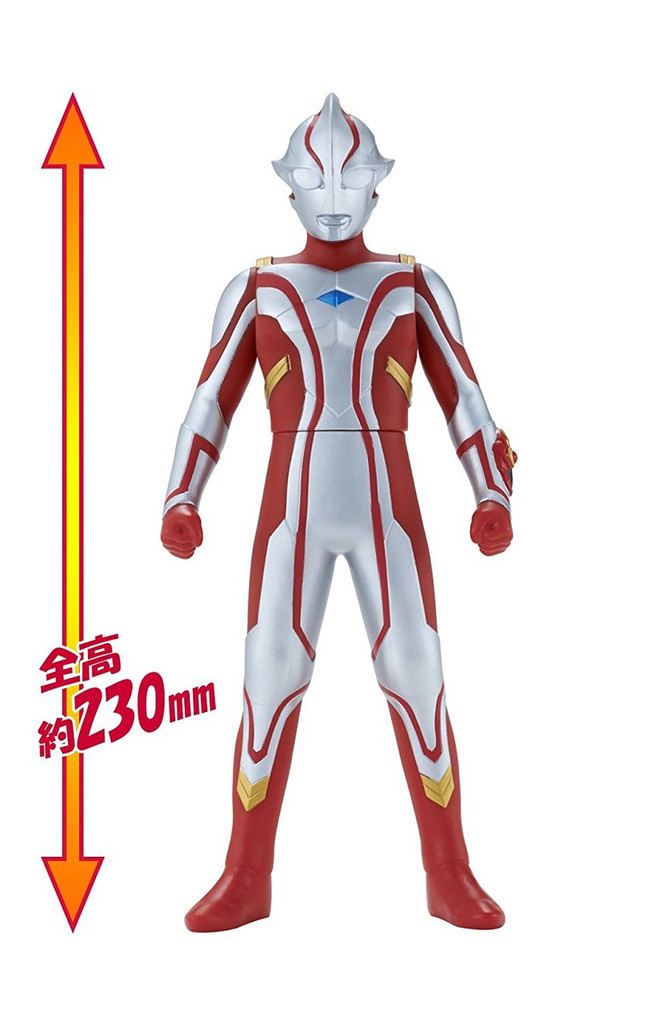 "Bandai Ultra Big Series Ultraman Mebius 9.0"" Figure"