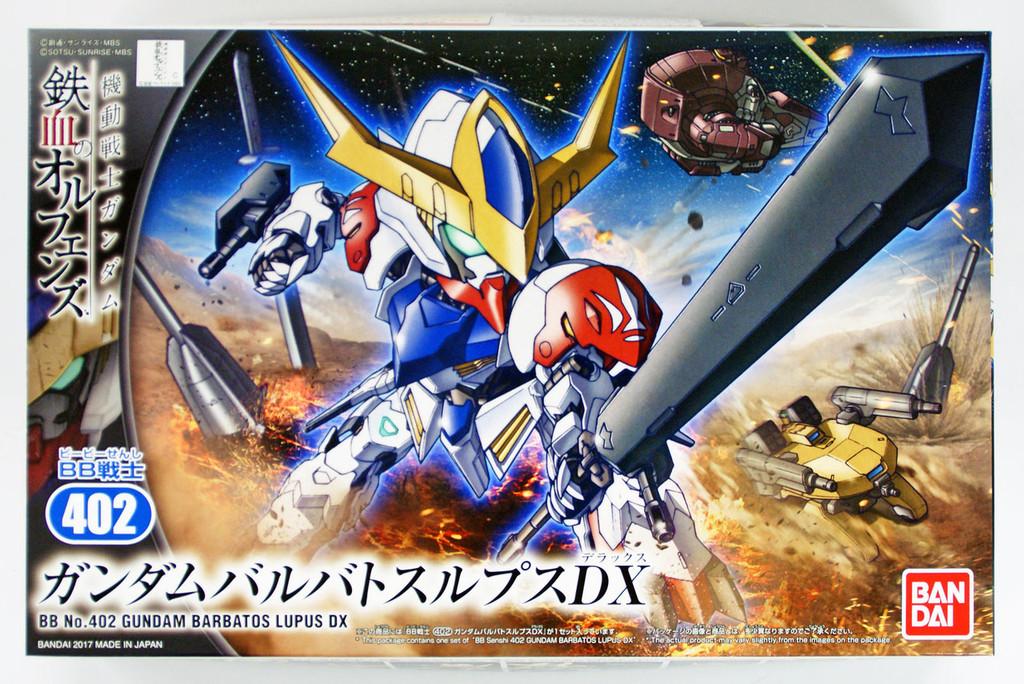 Bandai SD BB 402 Gundam GUNDAM BARBATOS LUPUS DX Plastic Model Kit