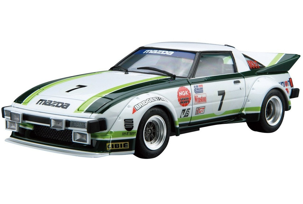 Aoshima 52297 The Model Car 22 MAZDA SA22C RX-7 Daytona '79 1/24 Scale Kit