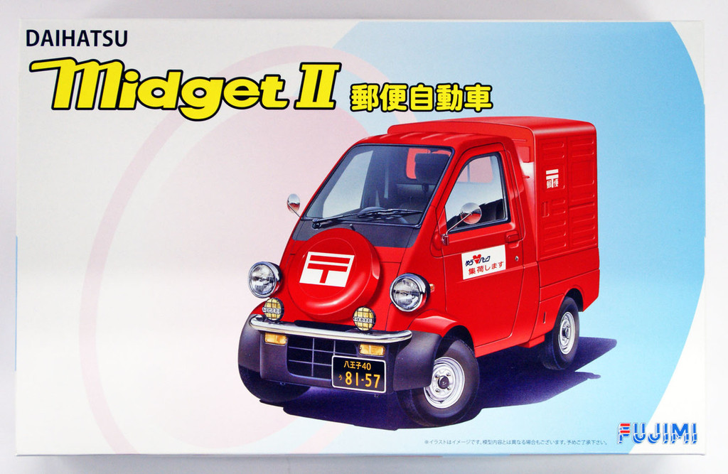 Fujimi ID-251 Daihatsu Midget II Postal Car 1/24 Scale kit