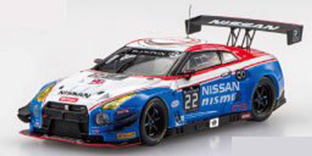 Ebbro 45482 NISSAN GT-R NISMO GT3 Blancpain Endurance 2015 No.22 1/43 scale