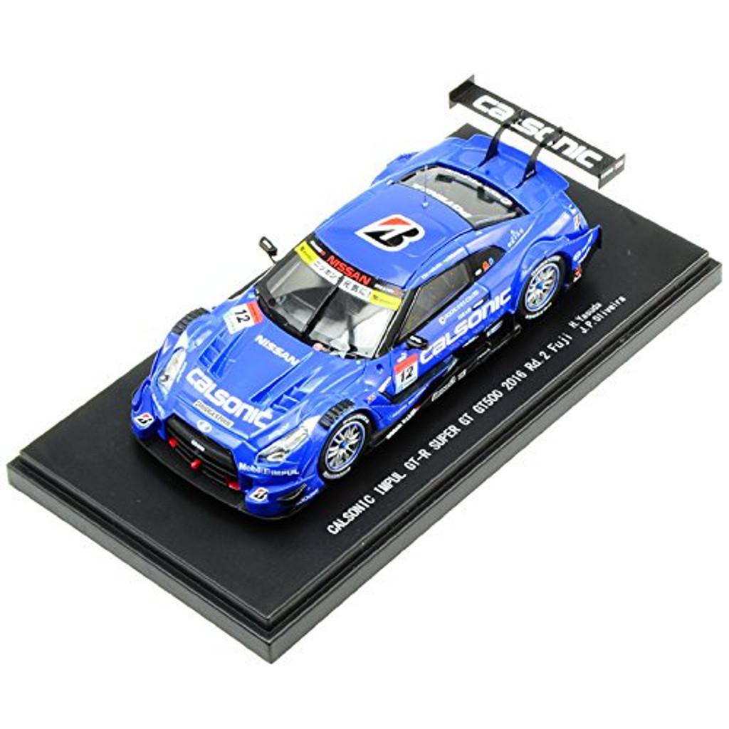 Ebbro 45398 CALSONIC IMPUL GT-R SUPER GT GT500 2016 Rd.2 Fuji 1/43 scale