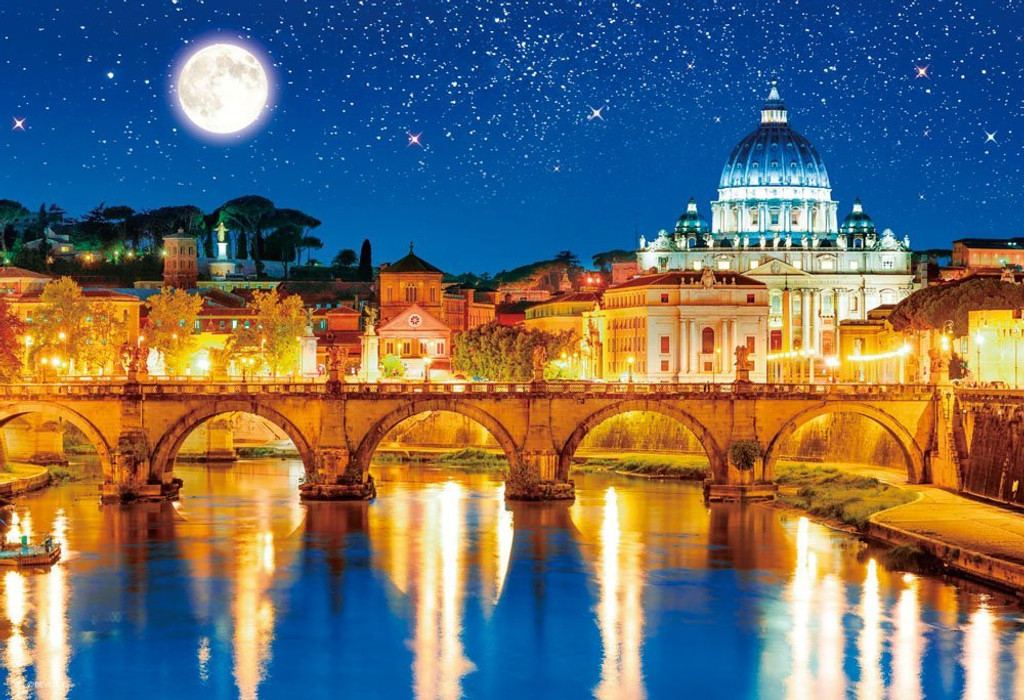 Beverly Jigsaw Puzzle M81-861 World Heritage St. Peter's Basilica Vatican City (1000 S-Pieces)
