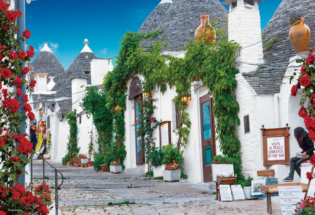 Beverly Jigsaw Puzzle M81-862 World Heritage The Trulli of Alberobello Italy (1000 S-Pieces)