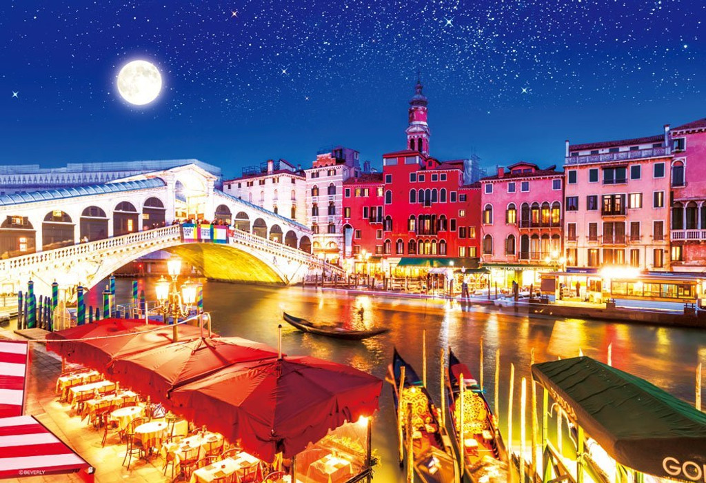 Beverly Jigsaw Puzzle M81-865 World Heritage Venice Italy (1000 S-Pieces)