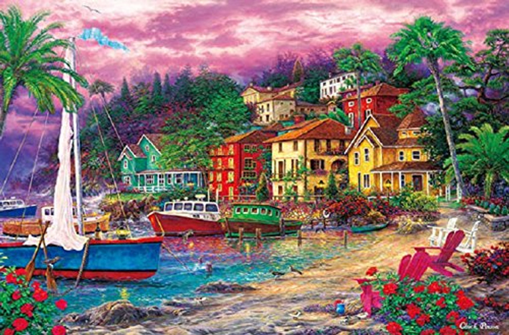 APPLEONE Jigsaw Puzzle 1000-796 Golden Shore (1000 Pieces)