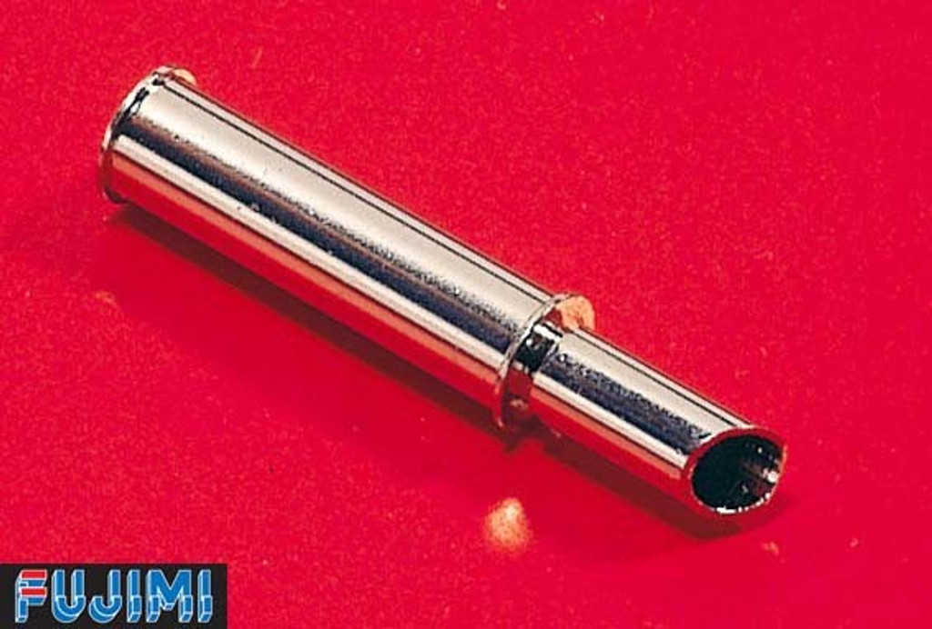 Fujimi Metal Muffler 9 Slash Type Muffler 1/24 Scale