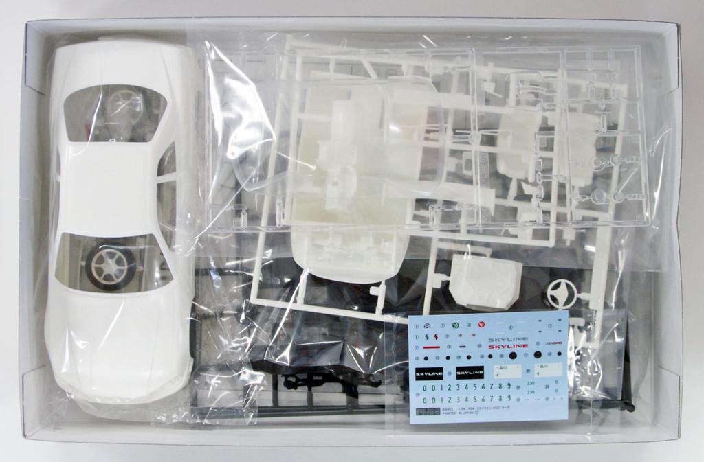 Fujimi ID-124 Nissan R34 Skyline 25GT Turbo 1998 1/24 scale kit