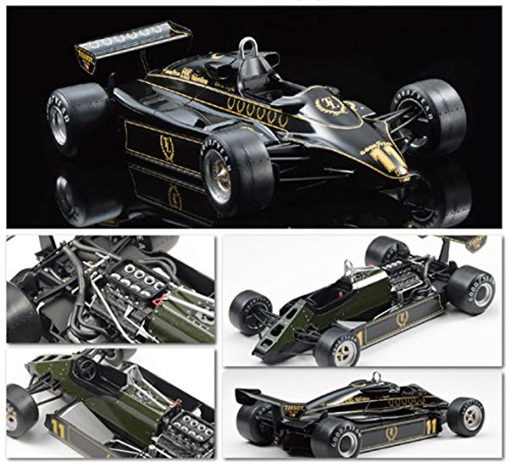 Ebbro 20012 Team Lotus Type 91 1982 1/20 scale plastic model kit