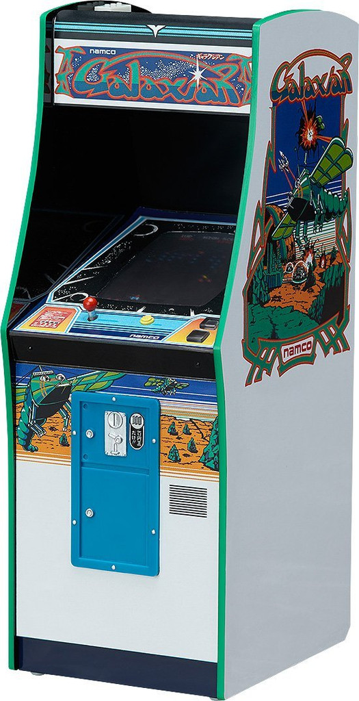 FREEing Namco Arcade Game Machine Collection Galaxian 1/12 Scale Figure