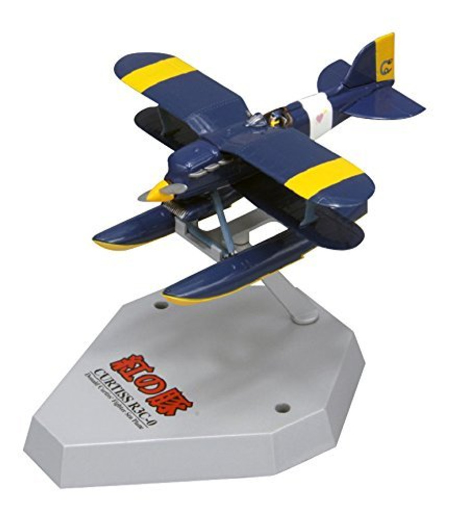 Fine Molds 62502 Curtiss R3C-0 Seaplane PORCO ROSSO 1/72 Scale Finished Model