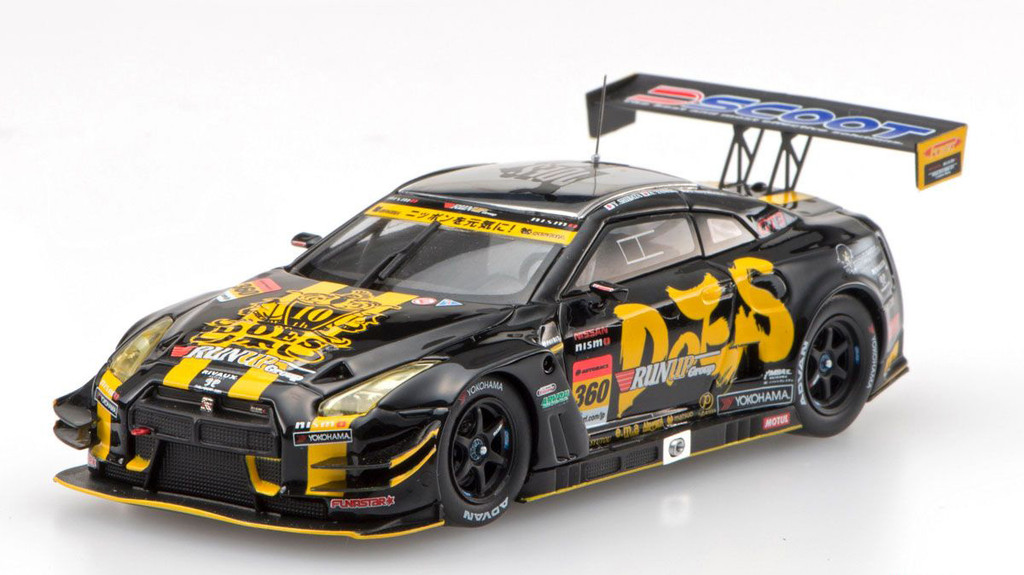 Ebbro 45403 RUNUP Group&DOES GT-R SUPER GT GT300 2016 No.360 1/43 Scale