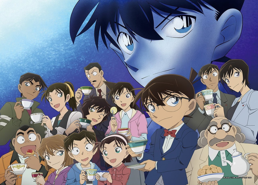 Epoch Jigsaw Puzzle 29-201 Case Closed Detective Conan (1000 S-Pieces)