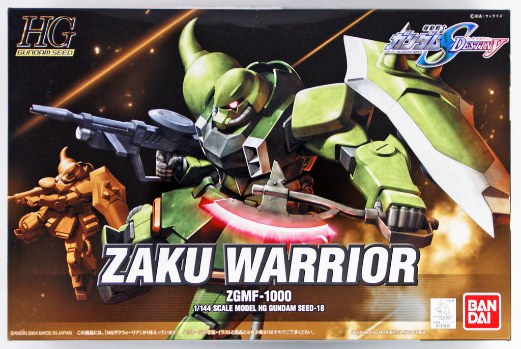 Bandai 314154 HG Gundam Seed Zaku Warrior 1/144 scale Kit
