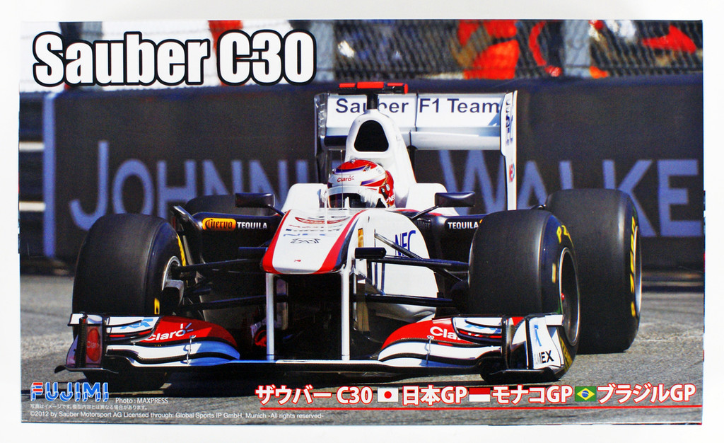 Fujimi GP22 092089 Sauber C30 (Japan/ Monaco/ Brazil GP) 1/20 scale kit