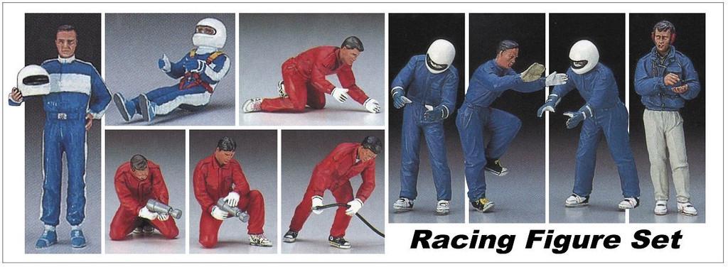 Hasegawa 20295 Racing Figure Set (10pcs.) 1/24 scale kit