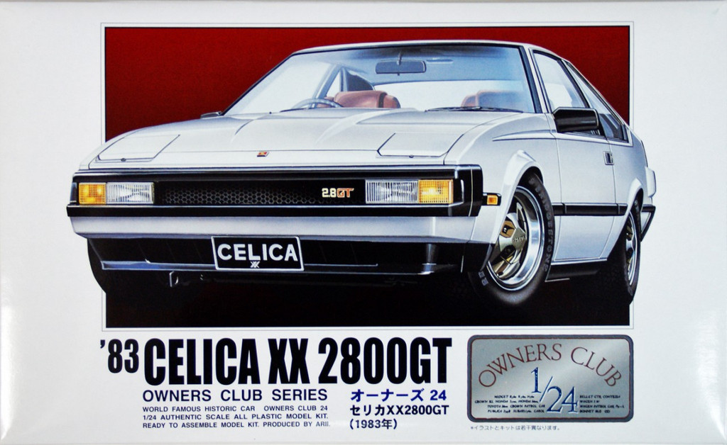 Arii Owners Club 1/24 14 1983 Celica XX 280GT 1/24 Scale Kit (Microace)