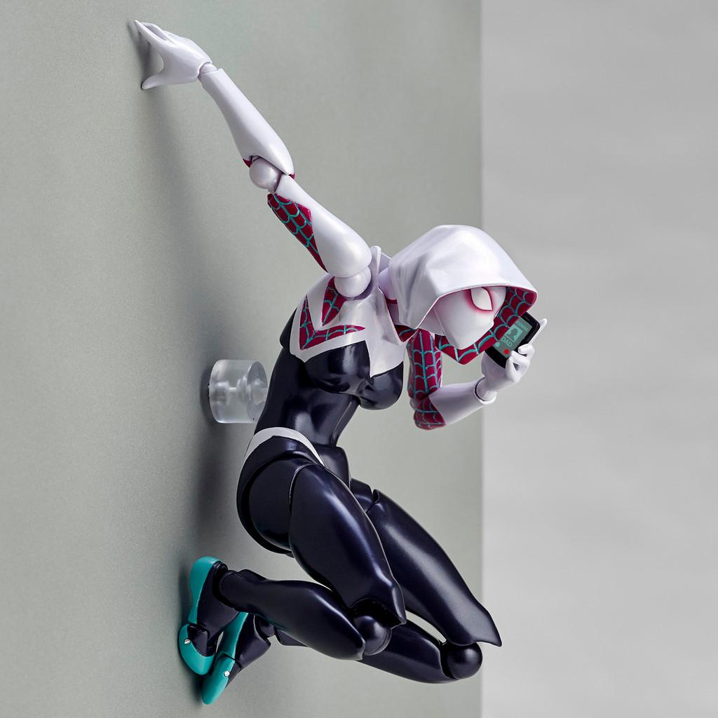 Kaiyodo Amazing Yamaguchi 004 Marvel Comic Spider-Gwen Revoltech Figure