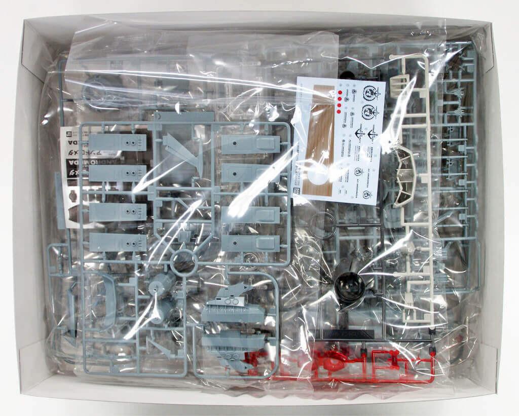 Bandai 145004 Yamato 2202 U.N.C.F. AAA-1 ANDROMEDA Movie Effect Version 1/1000 Scale Kit