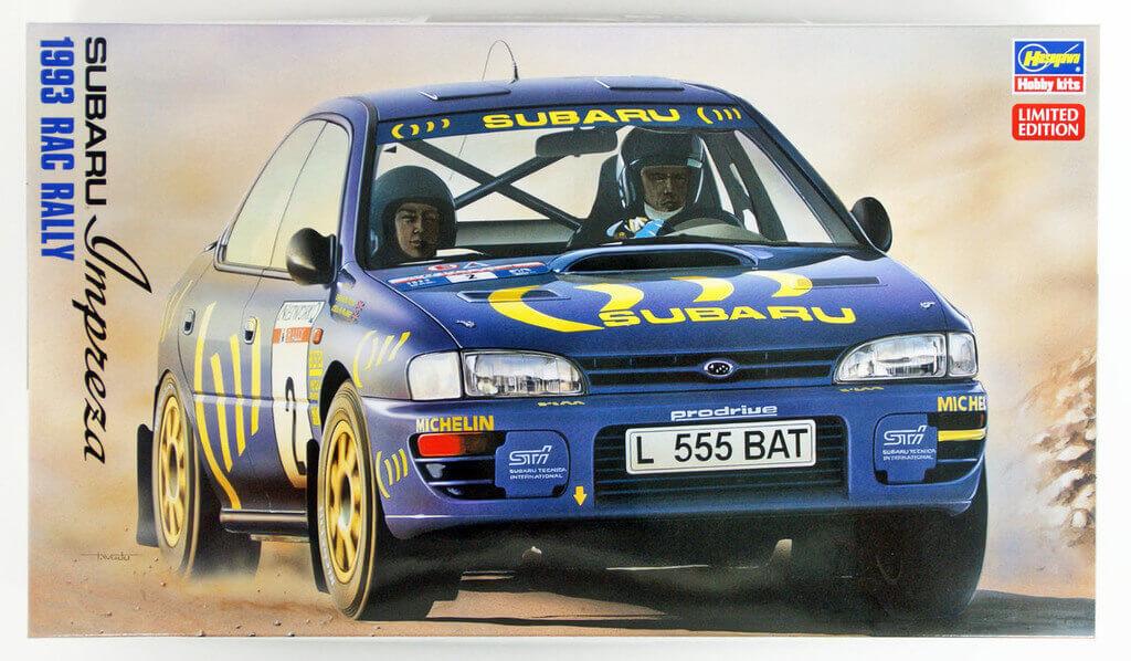 Hasegawa 20297 Subaru Impreza WRX 1993 RAC Rall | PlazaJapan