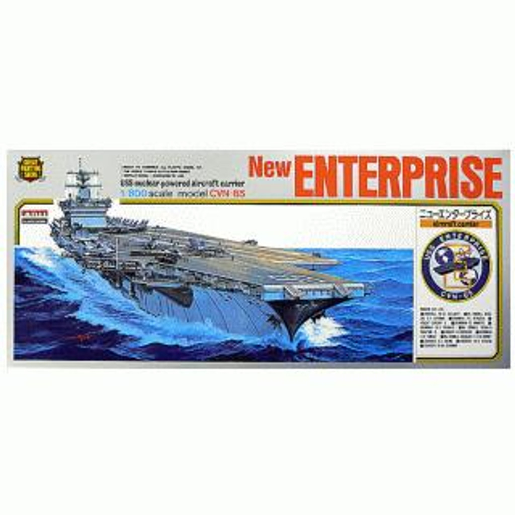 Arii-03 618035 USS Aircraft Carrier Enterprise CVN-65 1/800 Scale Kit (Microace)