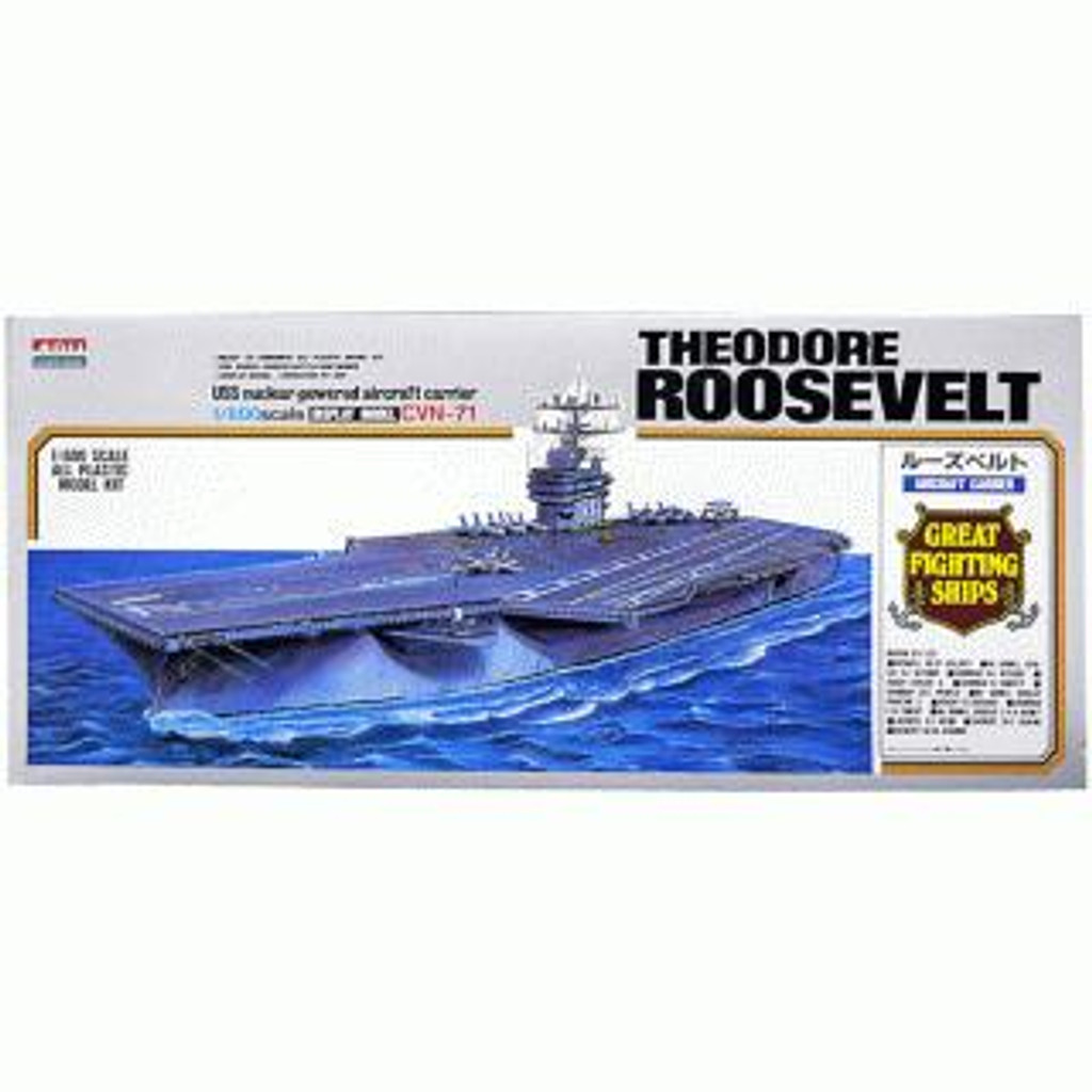 Arii-15 618158 USS Aircraft Carrier Roosevelt CVN-71 1/800 Scale Kit (Microace)