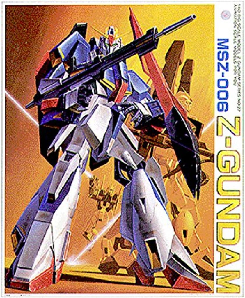 Bandai Z GUNDAM Series MSZ-006 Z-GUNDAM 1/60 scale kit 049700