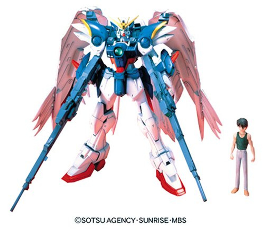Bandai 571379 GUNDAM W Endless Waltz W-GUNDAM ZERO CUSTOM 1/100 scale kit