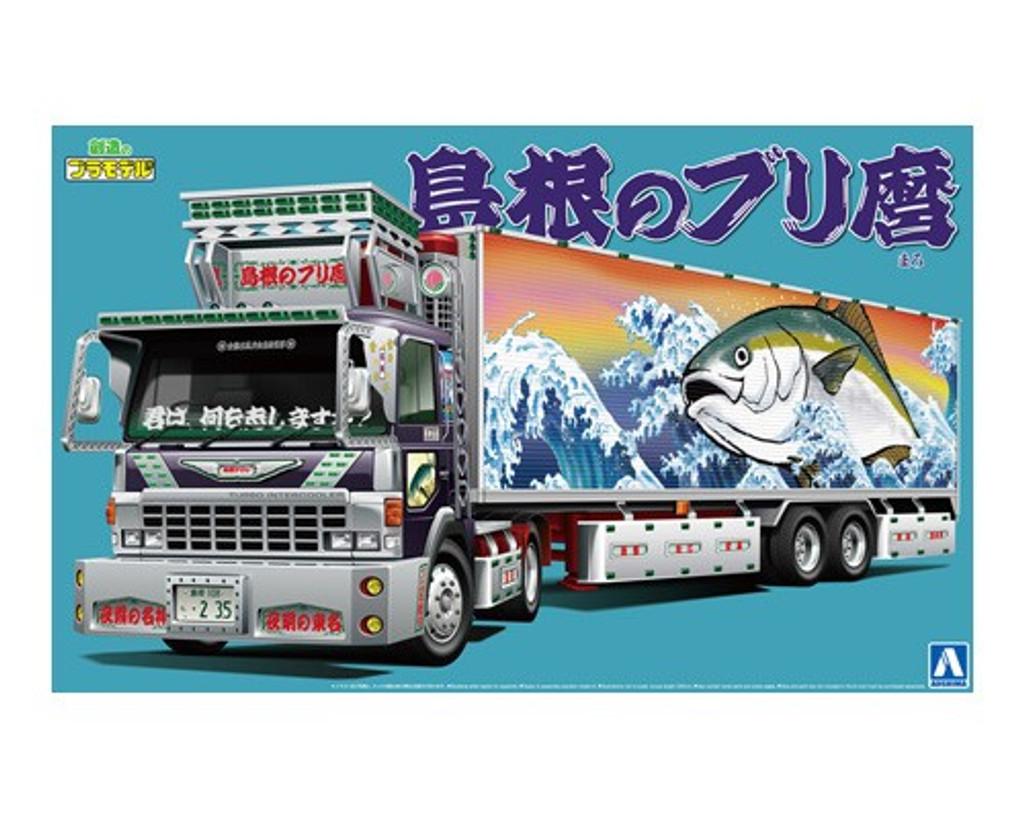 Aoshima 52860 Japanese Decoration Truck Shimane no Burimaro 1/32 scale kit