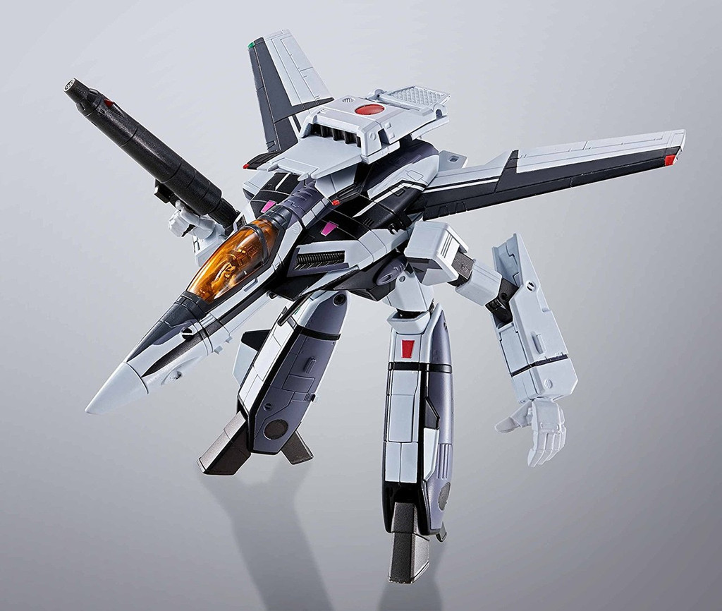 Bandai 161646 HI-Metal R Fortress Macross VF-1S Valkyrie Diecast Figure (35th Anniversary Messer Color)