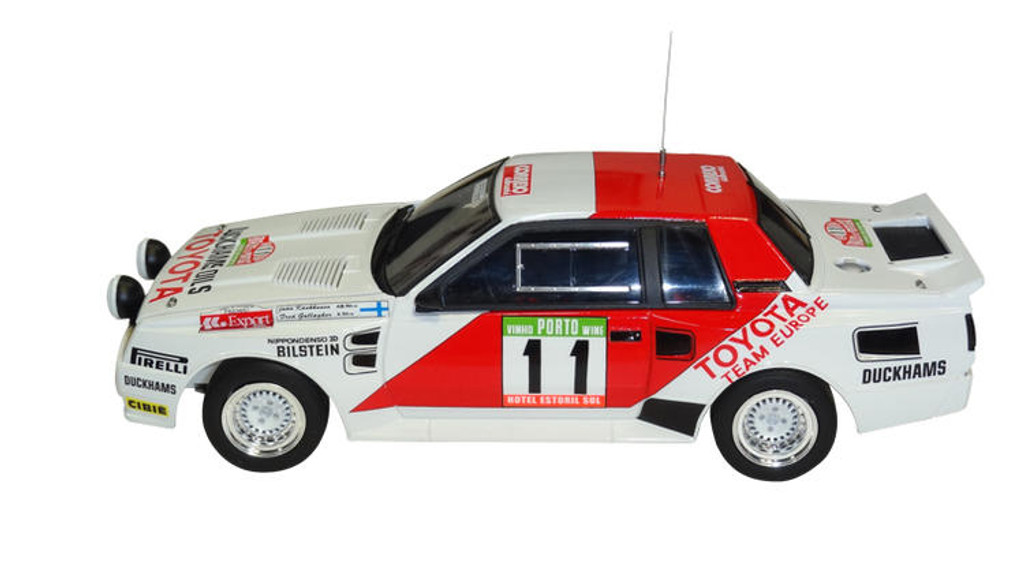 Aoshima 03142 Toyota TA64 Celica '84 Portugal Rally Ver. 1/24 scale kit