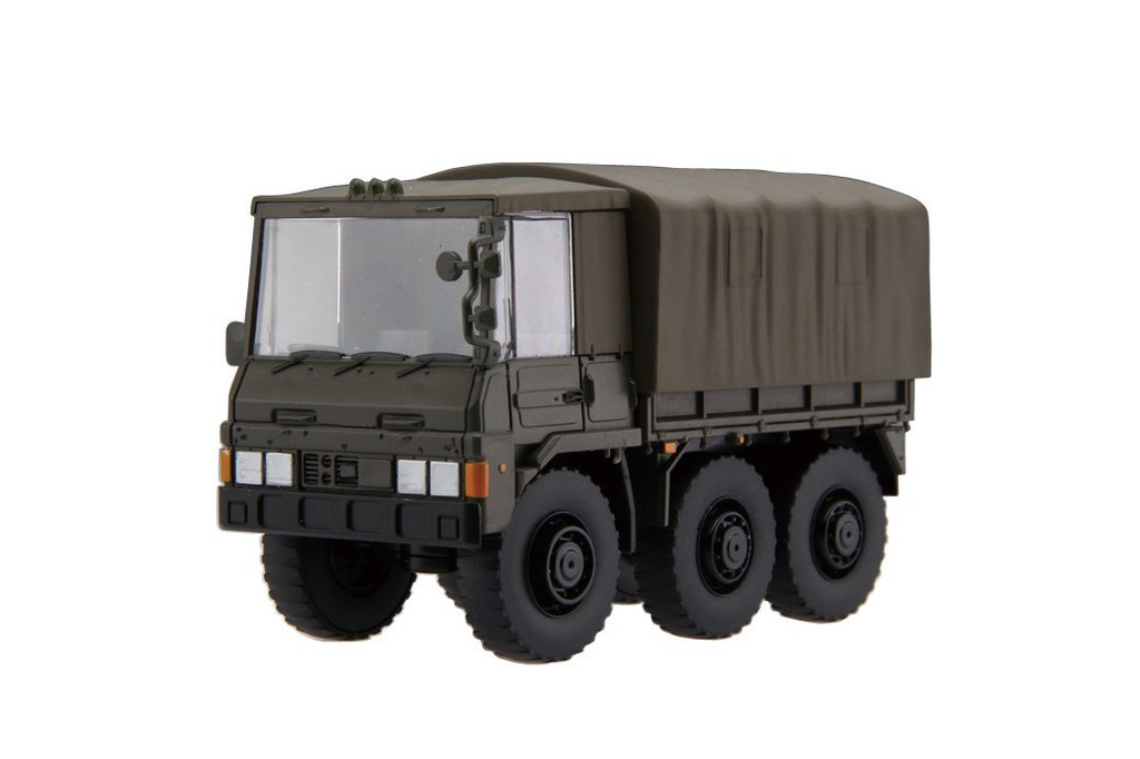 Fujimi TM3 Chibi-maru Military 3 1/2 ton Truck 2 set non-scale kit