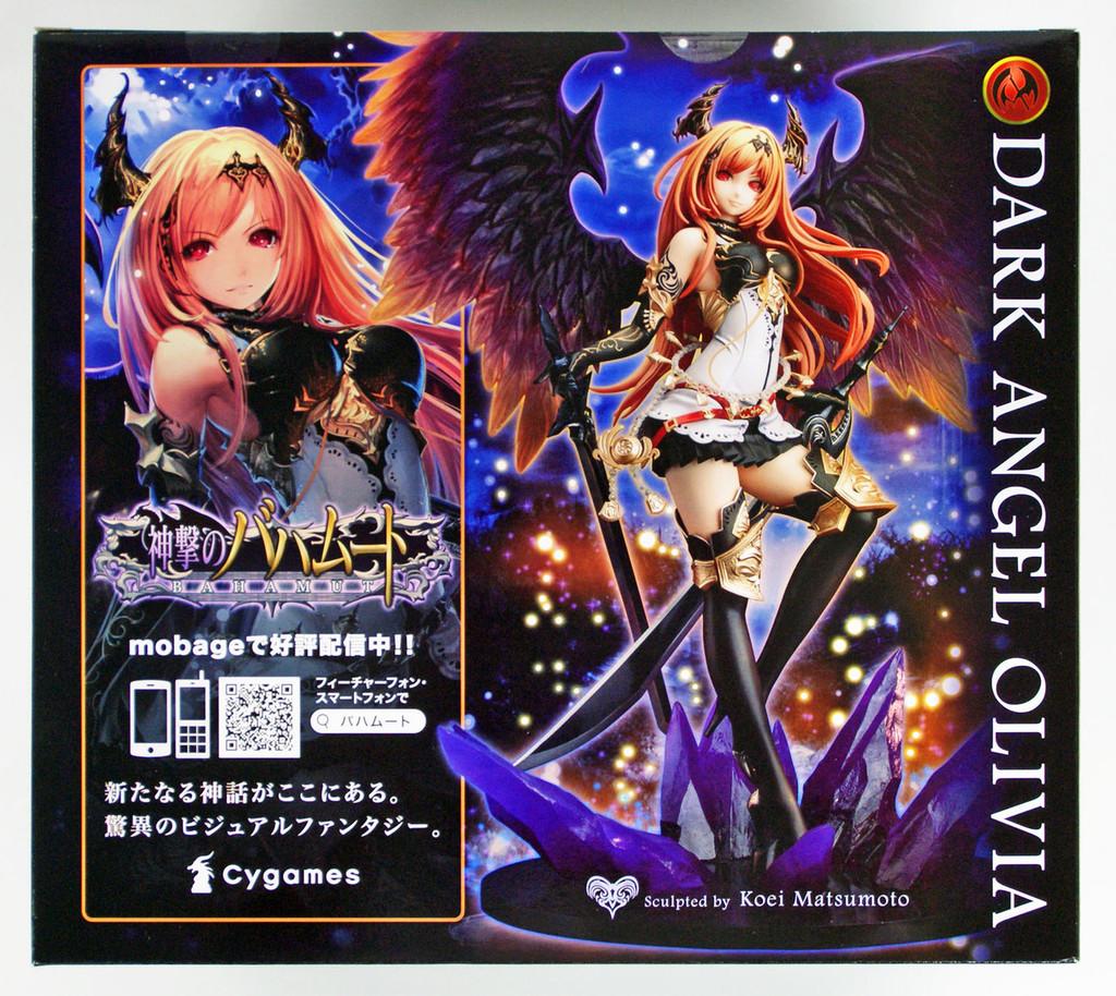 Kotobukiya PP534 Rage of Bahamut Dark Angel Olivia 1/8 Scale Figure