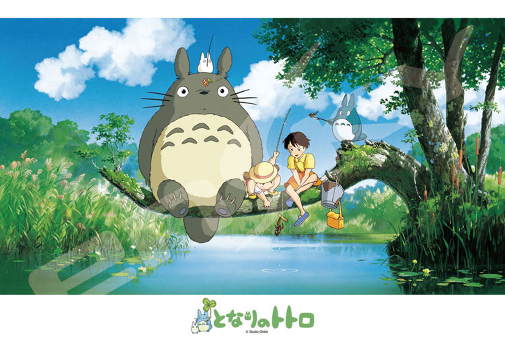 Ensky Jigsaw Puzzle 300-408 My Neighbor Totoro Studio Ghibli (300 Pieces)